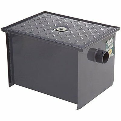 """GT-14 Grease Traps Carbon Steel Grease Interceptor, 16.2"""" Long By 18.29"""" Tall By"""