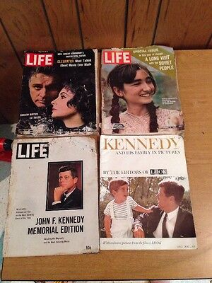 Lot Of Vintage Magazines: Life