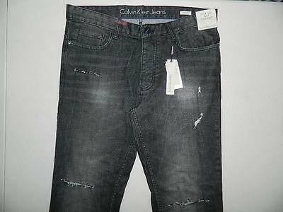 Calvin Klein Jeans Men's Slim Straight Fit Jeans Trousers NWT Size 34 x 32 MJ81
