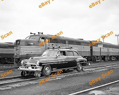NYC Railroad Inspection Car #100 - (1) 8x10 B&W Inkjet Photo