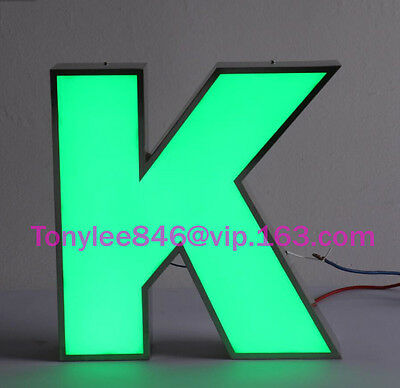 CUSTOM LED CHANNEL LETTERS SIGN with waterproof.store sign, size 12 inches