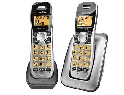 Uniden Dect 1715+1 Cordless Digital Phone Power Failure Back Up Wi-Fi Friendly