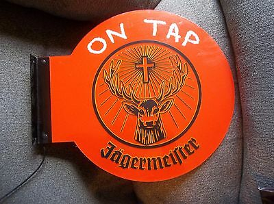 Lighted Bar Sign Jagermeister ---Double Sided---