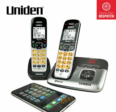 Uniden Premium Dect 3236+2 Cordless Digital Phone Bluetooth Answering Machine