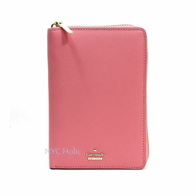 2018 Kate Spade New York Zip Around Personal Organizer Wellesley Pink Agenda