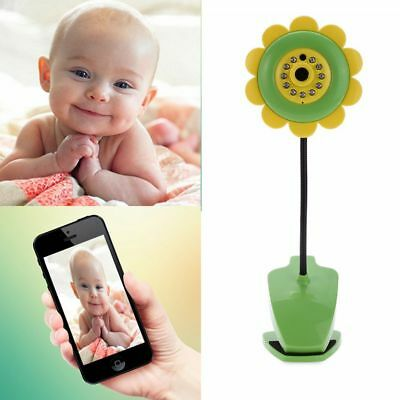 Sunflower Wireless WiFi Camera Baby Care Monitor Night Vision for Android iOS