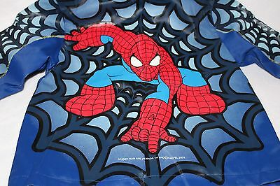 Spiderman Size 4T Raincoat Pre-Owned