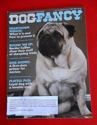 RARE Collectible ~ PUG Issue ~ DOG FANCY Magazine ~ May 1989
