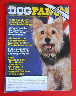 RARE Collectible ~ MIXED BREED MUTT Cover Issue ~ DOG FANCY Magazine ~ July 1982