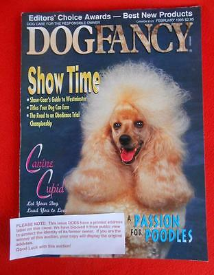 RARE Collectible ~ POODLE Issue ~ DOG FANCY Magazine ~ February 1995