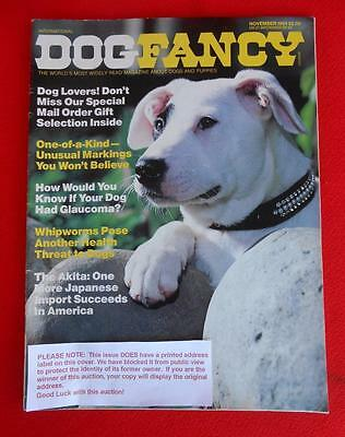 RARE Collectible ~ AKITA Issue ~ DOG FANCY Magazine ~ November 1984