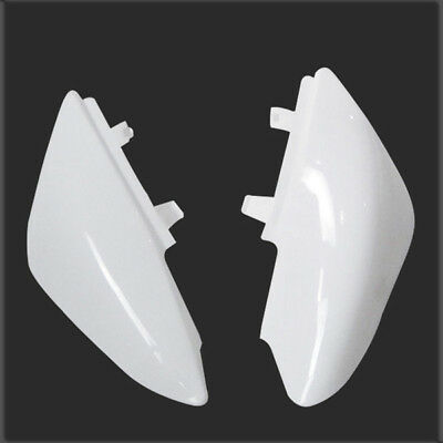 White HONDA CRF50 Plastic Rear Plate Fender Pit Pro Trail Dirt Bike Motorcycle