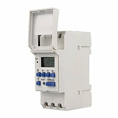 AC Safety Switches 220V 16A Digital LCD 7-Day Programmable Timer Time Relay