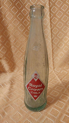 RC ROYAL CROWN COLA RARE IN 8oz SIZE GREEN BOTTLE