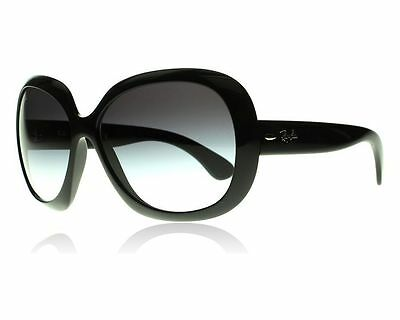 Ray Ban Jackie Ohh II RB4098 601 8G Black Frame Grey Gradient Lens 60mm Sunglass