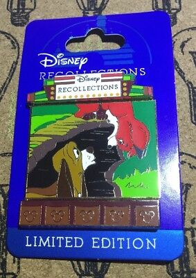 Disney Fox And The Hound Recollections Limited Edition 3000 Pin New WDW LE