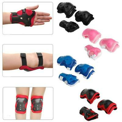 Elbow Wrist Knee Guard Protective Pad Cycling Skating Safety Gear Adult Kid G