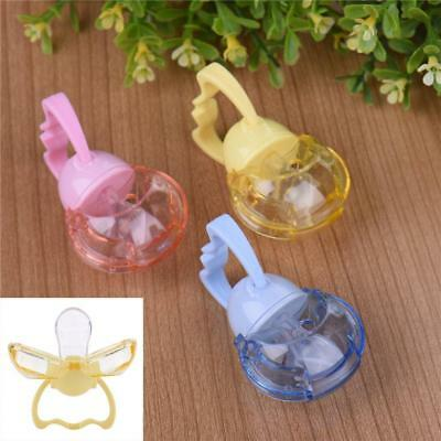 Dustproof Automatic Close Infant Pacifier Baby Safety Silicone Soother New G