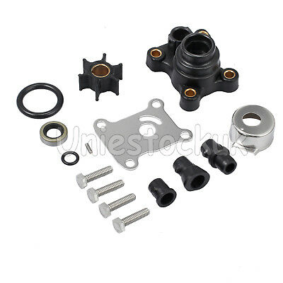 Water Pump Impeller Repair Kit 9.9hp & 15hp For OMC Johnson/Evinrude PN 394711