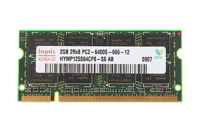 For Hynix 2GB DDR2 PC2 6400 800MHz Laptop Memory Notebook SODIMM RAM 200pin SL01