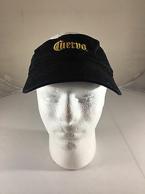 Jose Cuervo Black Visor Hat