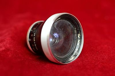 Vintage Carl Zeiss Pro-Tessar 35mm f/3.2 wide angle lens for Contaflex mount