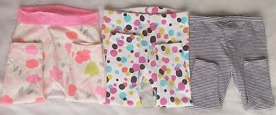 Baby Girl Leggings x 3   Size 0