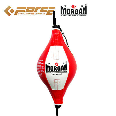 Morgan Endurance  Platinum Floor To Ceiling Boxing Ball 30cm 14' inch Red/White