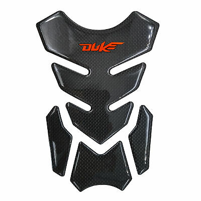 Real Carbon Fiber Fuel Gas Tank Protector Pad Sticker For KTM 640 620 690 1290