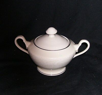 Reynolds Fine China by Shenango  Bridal Veil. Sugar Bowl w/Lid