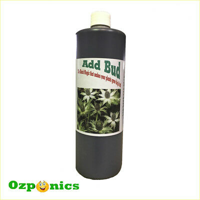 Add Bud Hydroponics Nutrients Flowering Additives Bloom Enhancer