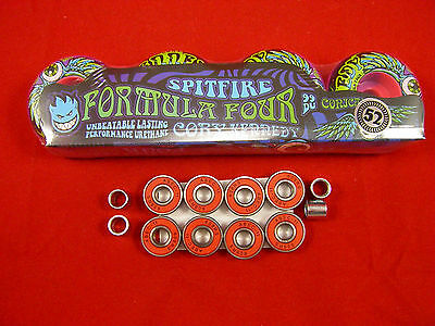 SPITFIRE F4 Cory kennedy 52mm / 99 DURO - SKATE BOARD WHEELS + ABEC 11's