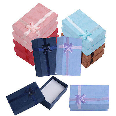 5Pcs High Quality Necklace Bracelet Ring Set Small Jewellery Gift Boxes Bag