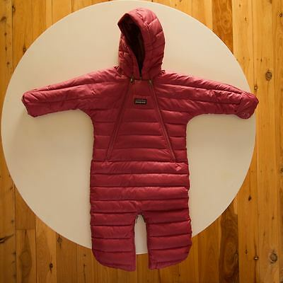 Patagonia 3 month baby insulated down one piece snow suit