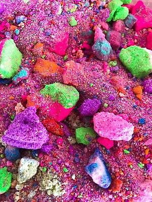 UNICORN RAINBOW POOP - Dust & Bubble, Bath Fizz,Funky fun Magic Dust 400g