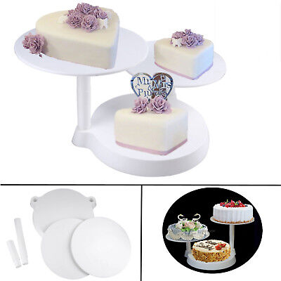 New 3 tier Cascade Wedding Cake Stand Home Party Xmas Cupcake Stand Rack Display