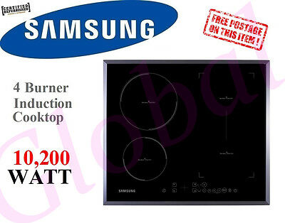 Samsung Cooktop 4 Burner Induction Kitchen Hob Cook Top Anydish Zone CTI-613GIN