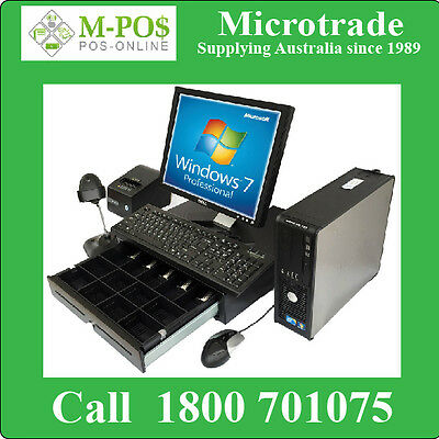 POS System. Budget Point of Sale Package All Hardware & Win7Pro & warranty.