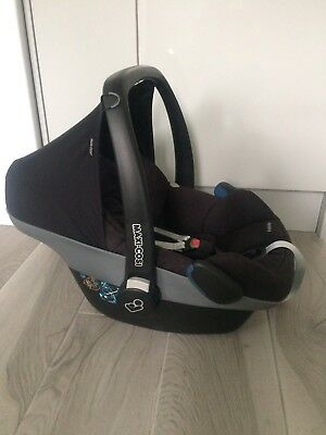 Maxi Cosi Pebble Car Seat In Black