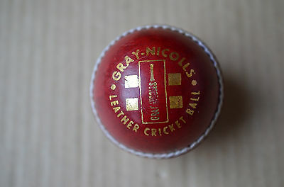 Gray Nichols Solid Hide Leather Cricket Ball 156 Grams Made In India
