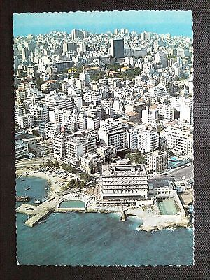 Cpsm Beyrouth Liban Vue Generale Grands Hotels