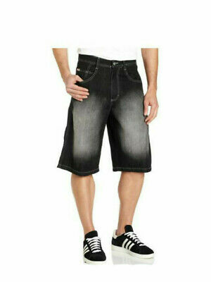 SOUTHPOLE 4180 Mens Relaxed Fit Denim Jean SHORTS pick color and size Blue Black