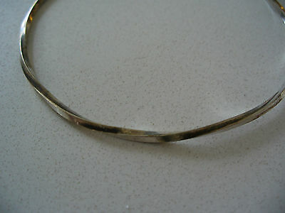 Gorgeous Handmade Sterling Silver  Bangle  - Excellent Condition