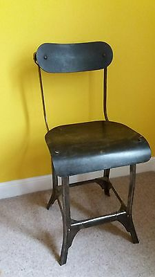 Welder's chair like evertaut and singer -rare example antique