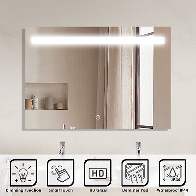 1000x700mm LED Illuminated Mirror Touch Switch Wall mounted Bathroom Must-have