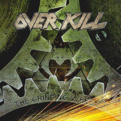 OVERKILL The Grinding Wheel with Bonus Tracks (Total 12tracks) JAPAN CD