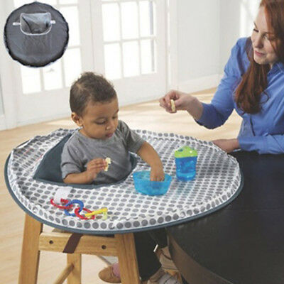 Waterproof Baby High Chair Seat Cover Eating Feeding Place Mat Cushion Ornate