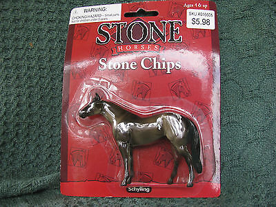 Schylling Stone Chips Appaloosa on the Thoroughbred Mold NRFC!