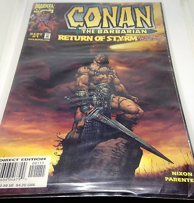 C170  Conan The Barbarian Return of Styrm Vol:1 No:1 Sep 1998 Marvel Comics