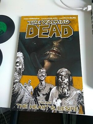 The Walking Dead Volume 4: The Heart's Desire Graphic Novel Comic Paperback